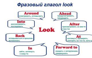 Фразовый глагол look: разнообразие комбинаций и значений