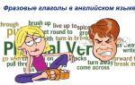 Фразовые глаголы в английском языке: грамматика и топ 250 выражений