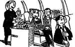 Диалоги бортпроводника в самолёте на английском + перевод на русский!