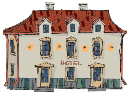 Английские слова на тему В ОТЕЛЕ — at the hotel (карточки, перевод, произношение)