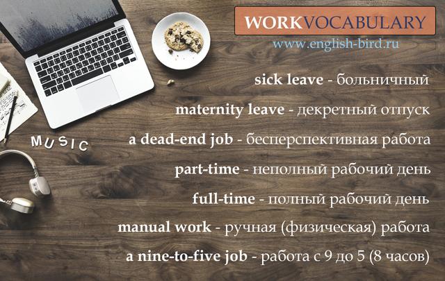 Английские фразы на тему В ОФИСЕ – in the office (с переводом и озвучиванием)