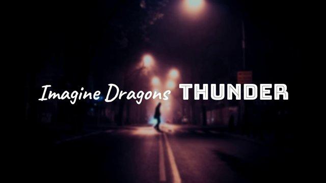 Английские фразы из песни imagine dragons – thunder (song) с переводом и озвучиванием